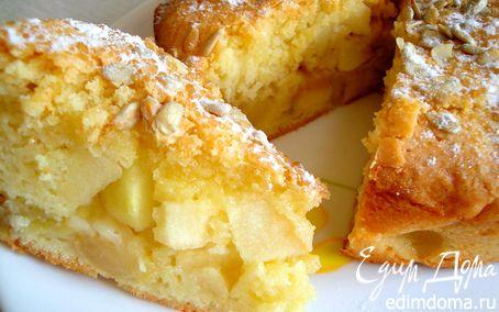 Рецепт Воскресный яблочный пирог с семечками