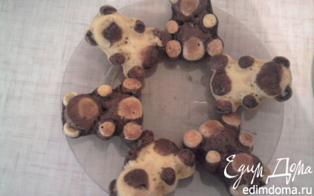 Рецепт Бисквитные мишки Барни
