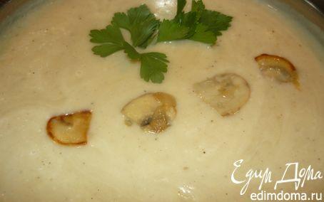 Рецепт Картофельный суп-пюре с шампиньонами