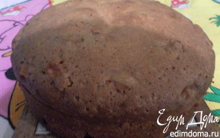 Рецепт Постный яблочный кекс