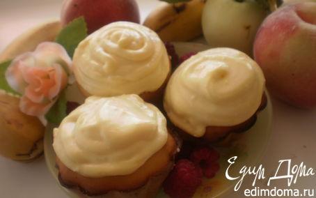 Рецепт Лимонно-шафрановые капкейки