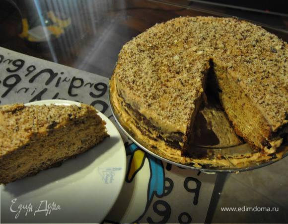 Торт медово-миндальный