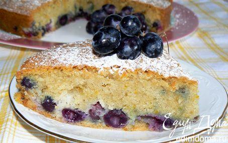 Рецепт Кекс с виноградом (Torta al Vino)