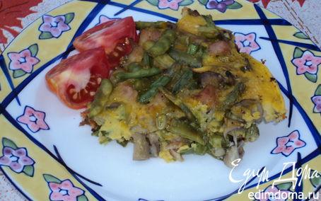 Рецепт Омлет с грибами