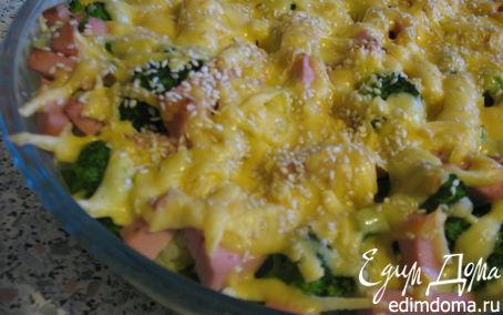 Рецепт – Запеканка из цветной капусты и брокколи