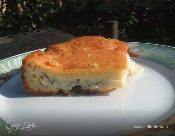Капустный пирог,быстро и вкусно №2