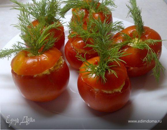 Фаршированные помидорчики - прекрасная летняя закуска