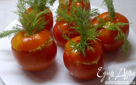 Рецепт Фаршированные помидорчики - прекрасная летняя закуска