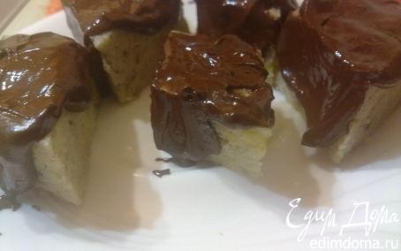 Рецепт Манно-банановые пироженки ( в пароварке) в пароварке