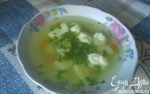 Рецепт Суп с фрикадельками из рыбы.