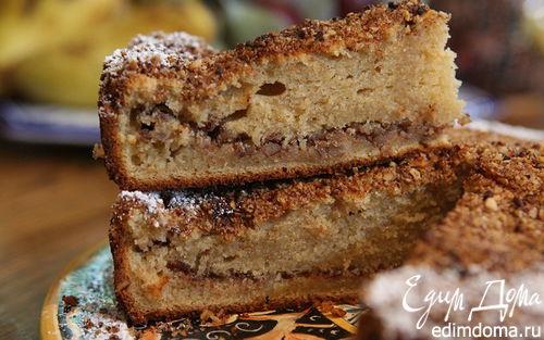 Рецепт Ореховый пирог на сметане
