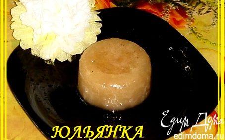 Рецепт Ледяная яблочная карамелька