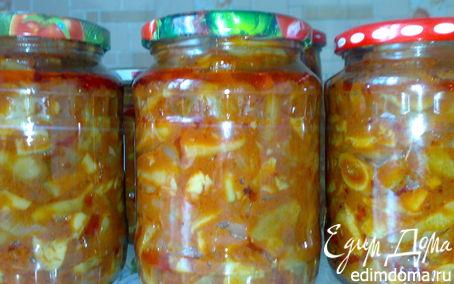 Рецепт Грузди в томатном соусе