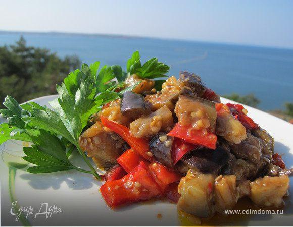 Закуска из баклажанов (болгарская)