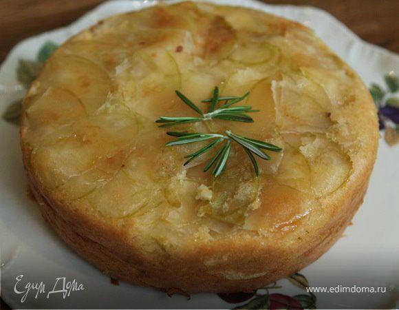 Слоеный итальянский яблочный пирог