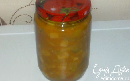 Рецепт Лечо из кабачков