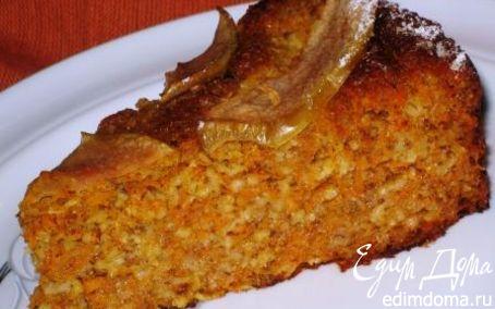 Рецепт Овсяно-морковная запеканка