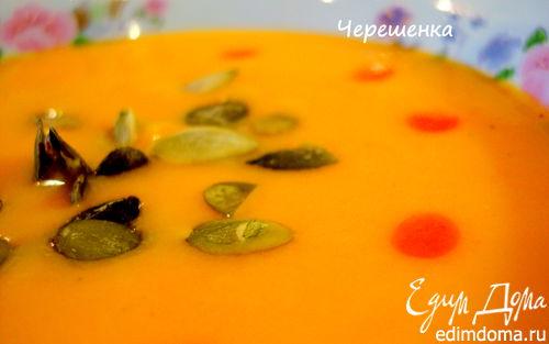 Рецепт – Суп-пюре из тыквы
