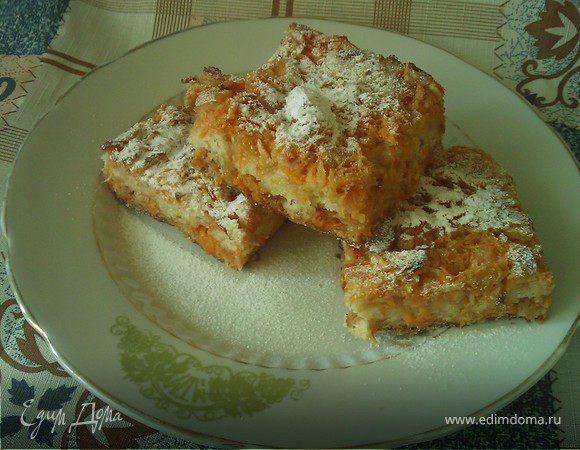 Болгарский пирог (морковно-яблочный)