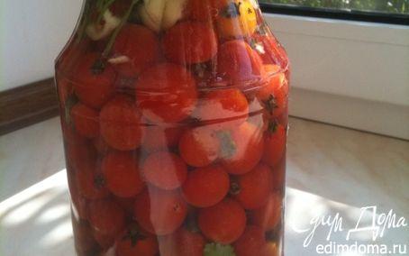 Рецепт Малосольные помидорчики 3-х дневки