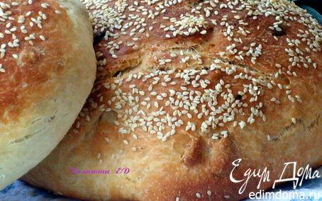 Рецепт Хлебушек с изюмом, орехами и корицей