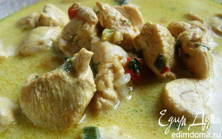 Рецепт Курица в кокосовом молоке