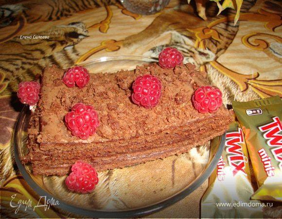 """Шоколадный торт """"Малиновый поцелуй"""""""