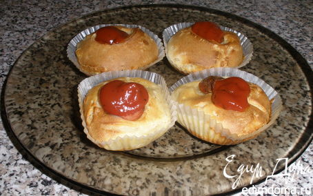 Рецепт Маффины сырные