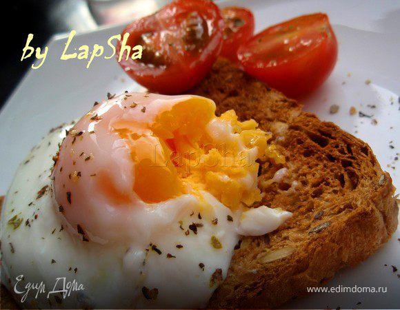 Яйца-пашот в СВЧ