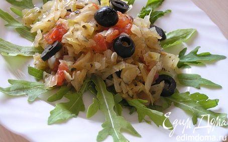 Рецепт Тушеная капуста по-итальянски