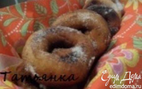Рецепт Пончики на сгущенке, пышненькие:)
