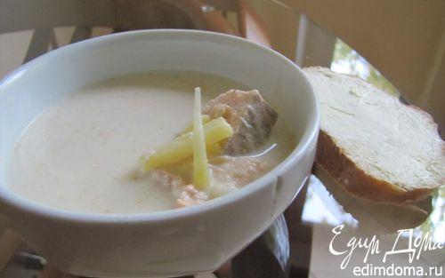 Рецепт Молочный рыбный суп