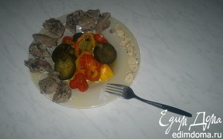 Рецепт Баранина Кариба-Тропикана и индийские овощи