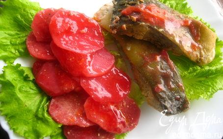 Рецепт Карп на подушке из овощей