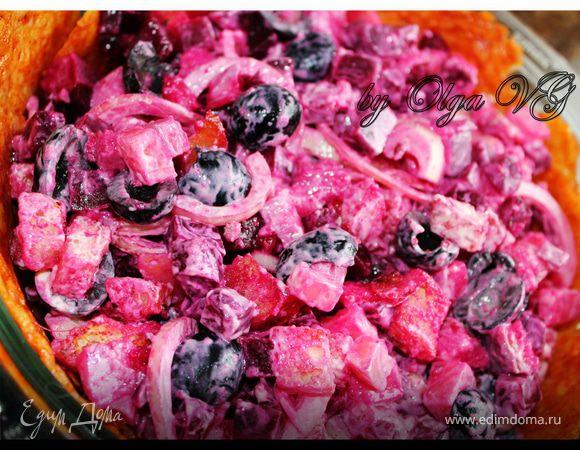 Салат с семгой и картофелем рецепт