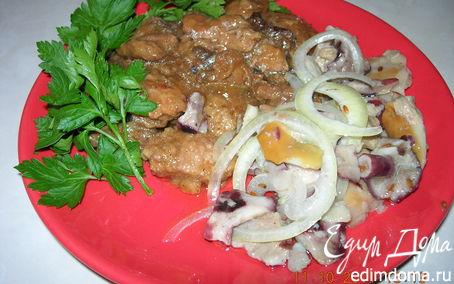 Рецепт Запеченная говядина с черносливом