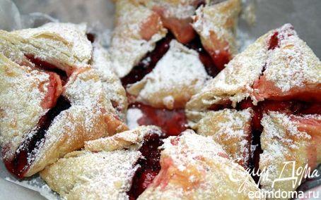 Рецепт Домашние слоечки с ягодой
