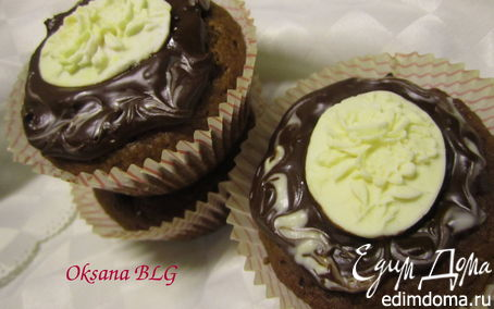 Рецепт Шоколадно- банановые маффины.