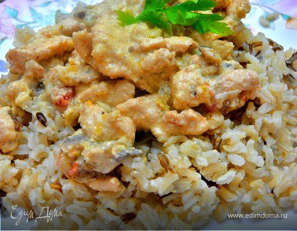 Курица по-тайски(почти по-тайски)