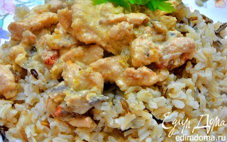 Рецепт Курица по-тайски(почти по-тайски)