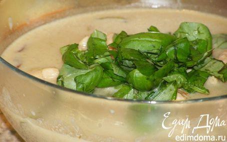 Рецепт Курица с зеленой пастой карри