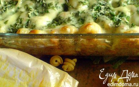 Рецепт Макаронная запеканка с овощами и курицей