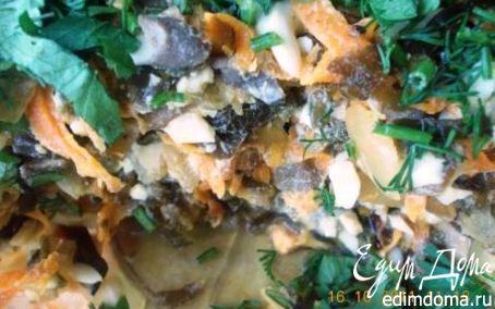 Рецепт Салат с морской капустой