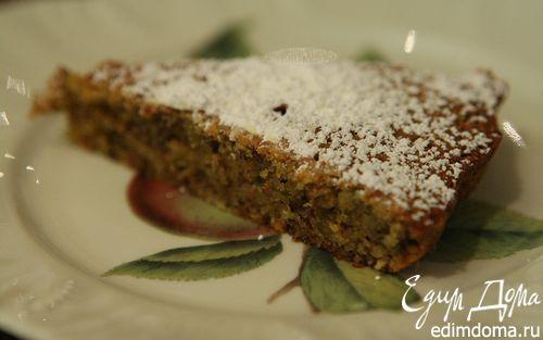 Рецепт Пирог с миндалем и фисташками