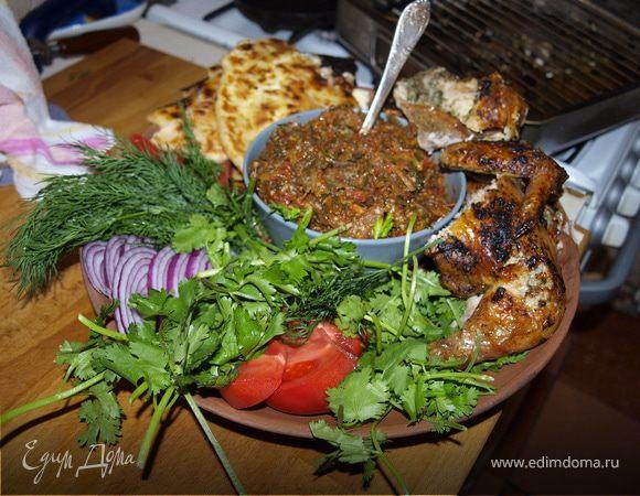 Ужин в кавказском стиле