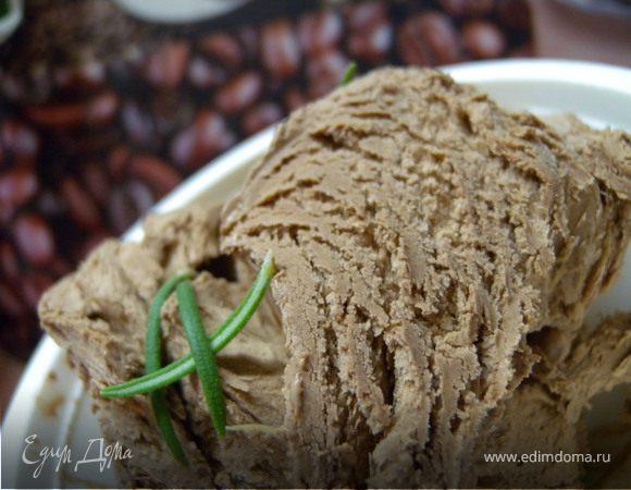 Сливочное шоколадное мороженое