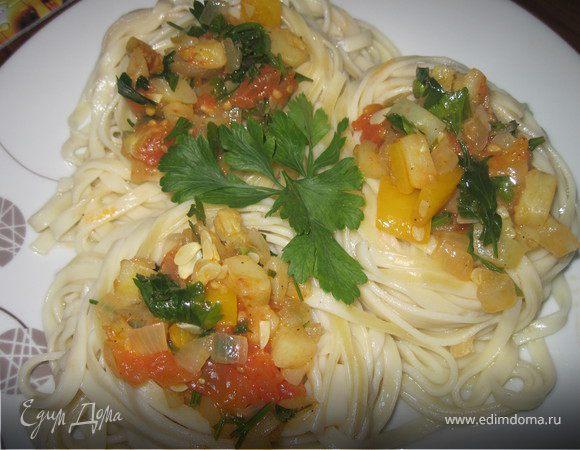 Гнезда с овощами