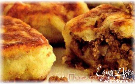 Рецепт Картофельники с мясом