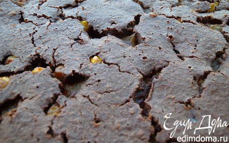 Рецепт Пирог на хлопьях Нордик с дыней и физалисом
