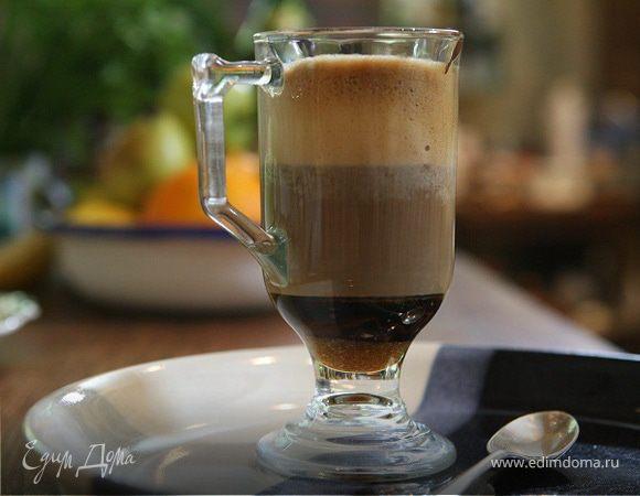 Кофейный напиток с горячим шоколадом